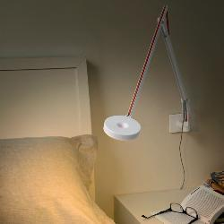 String LED wandlamp