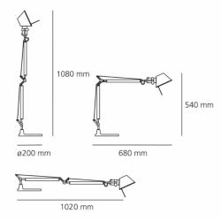 Tolomeo mini LED (body)